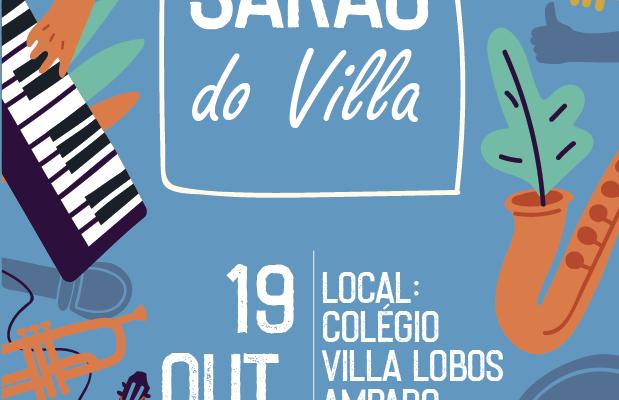 SARAU do Villa acontece em 19 de outubro 1