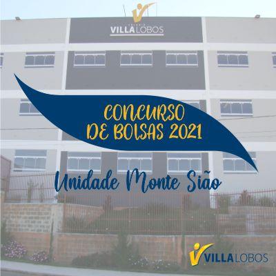 Concurso de bolsas 2021 - Unidade Monte Sião 1