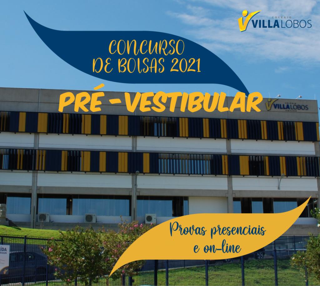 Concurso de bolsas - Pré-vestibular 2021 3