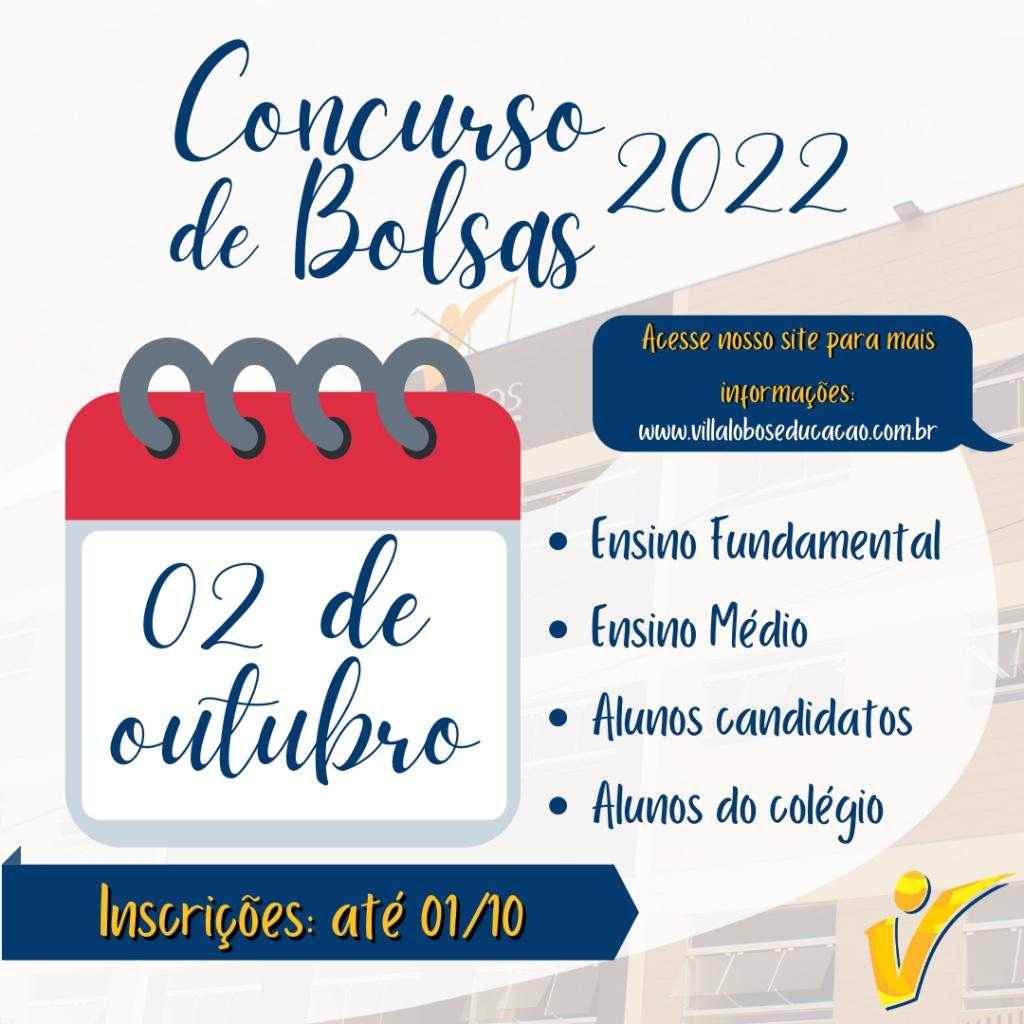 Concurso de Bolsas - 2022 Monte Sião 9