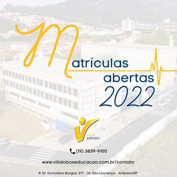 Matrículas abertas 2022 3
